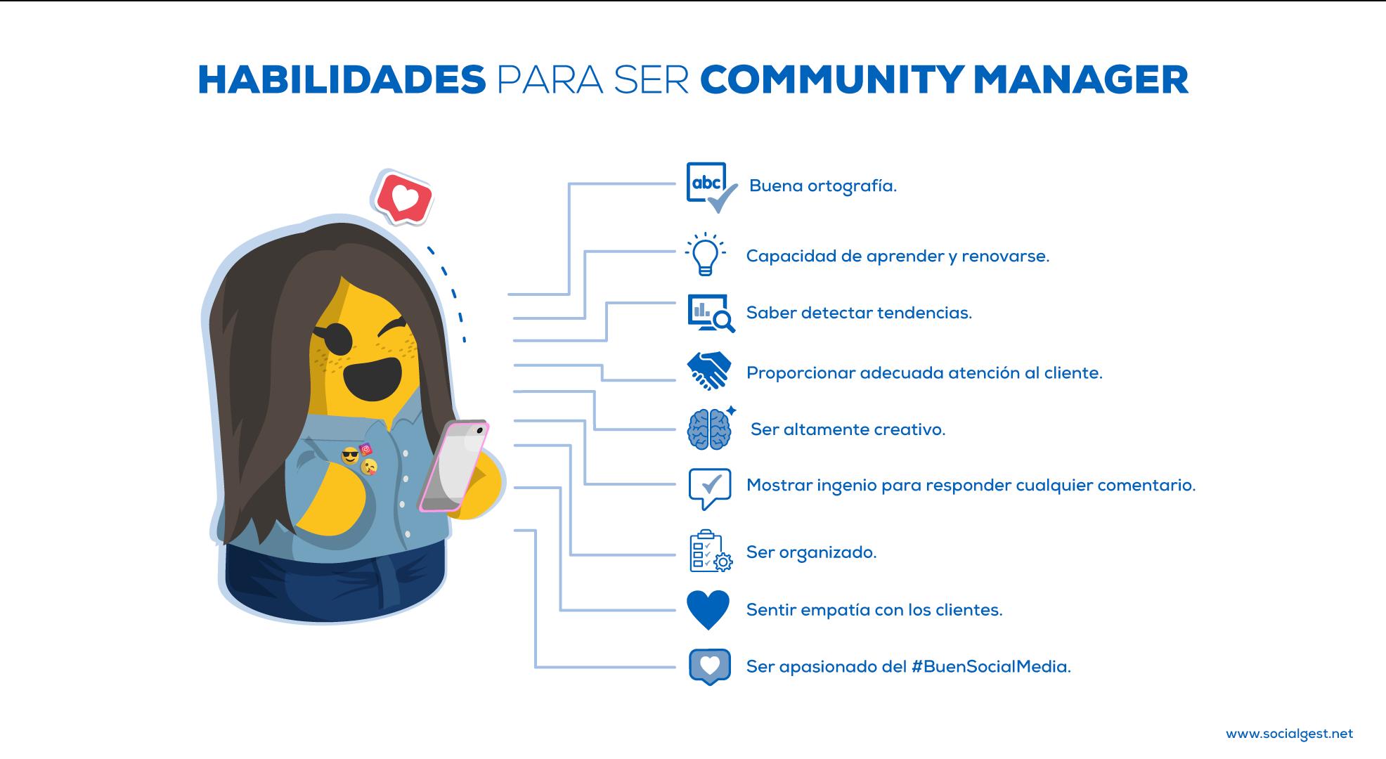 Habilidades y Funciones de un Community Manager